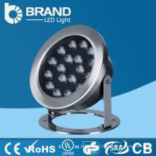 RGB цвет светодиодный подводный свет 21W, светодиодный подводный свет 110v