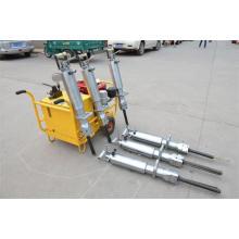 Spliters hidráulicos conduzidos diesel para a rocha do granito