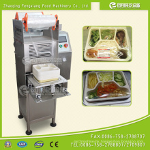 Fs-600 Fast Food Box Sealing Machine, Rice Tray Sealing Machine, Salad Tray Film Sealing Machine