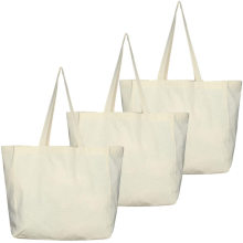 Promotional original heavy duty cotton tote bags with custom printed logo