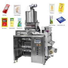 Машина для упаковки жидкостей в многослойные 4-х сторонние пакеты