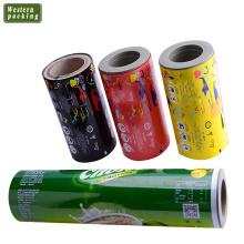 Milk powder packaging film roll, laminated milk powder packing film roll