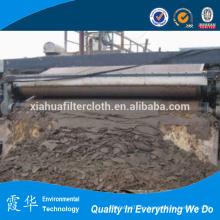Cinturón filtrante para tratamiento de residuos