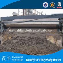Filter belt for waste treatment