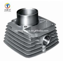 Cylindre en métal de boîte en fer blanc