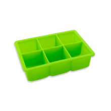 6 Cups Premium Silicone Ice Cube Tray