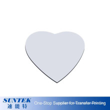 Heart Shape Sublimation Mouse Pad Rubber Mouse Pad Custom Logo for Mother′s Day Gift