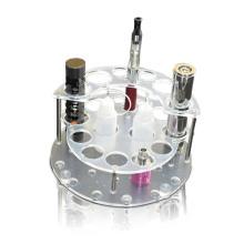 Plateaux d'affichage acrylique clair de point de vente pour E-Cigarette