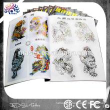 2015 nouveau design tatouage flash A4 24 jeu de tatouage livre dessin animé professionnel dessin de tatouage livre pour les artistes