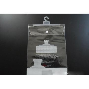 Custom plastic bag for clothes (PVC bag)