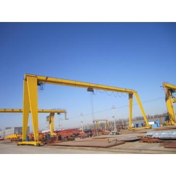 Gantry crane outdoor balok tunggal 15 ton