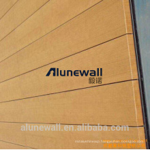 3mm 4mm 5mm fireproof Wooden Finish/Grantie Grain Aluminium Composite Panel factory supply