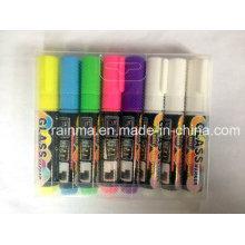 Hochwertiger Fluoreszenz-Farb-Textmarker für Weiß / Schwarz / LED / Auto / Glasplatte