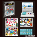 Magnetic Puzzle Traffic Facilities Toys for Kids