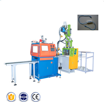 Seal Hang Tag Injection Machine with Plastic Lock
