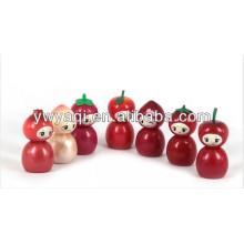 Förderung süßen Lipgloss mit Obst Form Kappe
