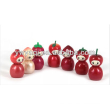 Promotion Cute Lip Gloss with fruit shape cap