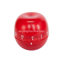 Werbeartikel Red Apple Shape Kitchen Timer