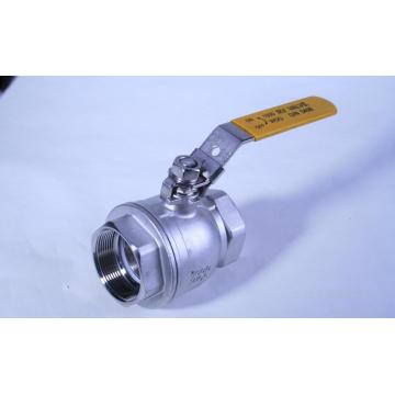 2PC verringern Bohrung 1000 Wog Float-Kugelventil (Korea-Art)