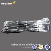 Customized transport shock resistant black inflatable air bag packaging cartridge
