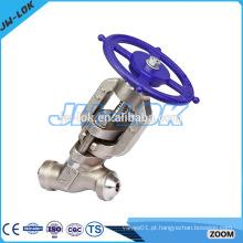 Válvula de globo de Y de alta pressão