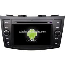 FACTORY! Lecteur multimédia de voiture pour la version 4.4.2 système Android Suzuki Swift