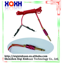 High quality plastic rubber tattoo clip cord digital silicone tattoo clip cord for power supply
