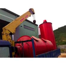 tratamiento de residuos de carbón de leña Carbonización horno de leña de carbón de leña