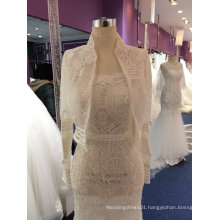 New Arrival 2017 Boho Wedding Dress with Shawl