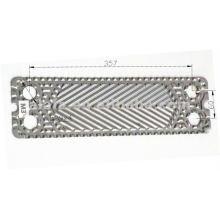 Placa de 316L similar m3 para intercambiador de calor, placa de exchager M3 reemplazo de calor