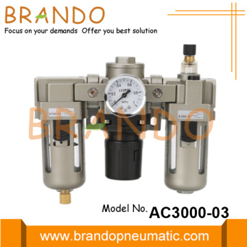 AC3000-03 Kombo Regulator Filter Udara Jenis SMC Regulator Lubricator