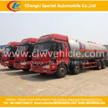 Heavy Duty 8*4 FAW 35500liters LPG Transport Tanker Truck