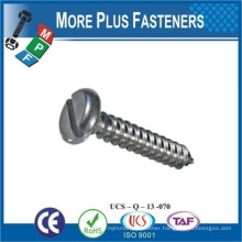 Made in Taiwan DIN 7971 ISO 1481 Slotted Pan Head Self Tapping Screw