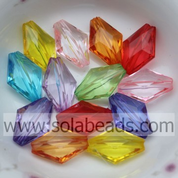 """Manufacturer 11*16MM  Plastic Tapered Tube Jewelry Beads"""