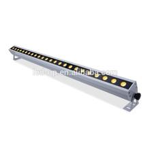 Lumières LED DMX RGB Appliques murales modernes, porte murale IP65 24W