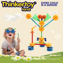 Plastic Educational DIY Toy Puzzle Game Blocks
