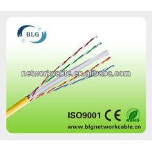 12 años de experiencia de fábrica Cat5e cat6 UTP cable