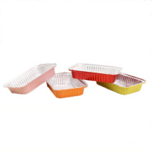 Color lunch box disposable lunch box microwave insulated lunch box