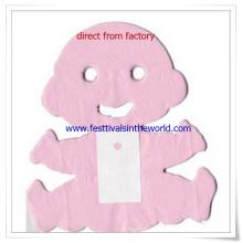 2015 nouvelle conception 12 guirlande de bébé de papier de soie de pied pour la décoration d'anniversaire