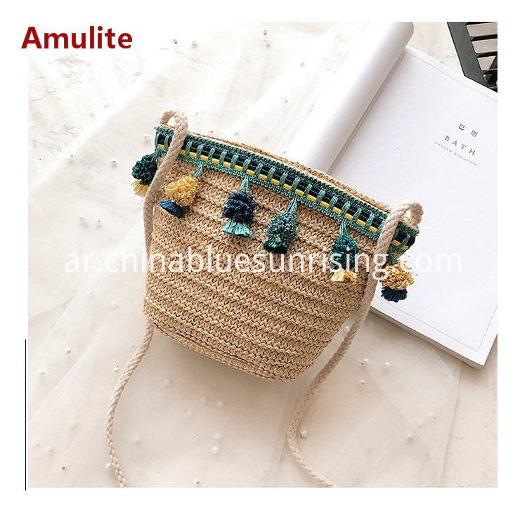 Rattan Bag Women Straw Bags
