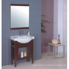 Cabinet de salle de bains évier en céramique (B-199)