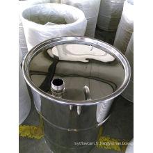 Tambour en acier inoxydable avec robinet