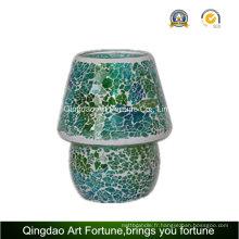 Mosaïque en mosaïque métallique Candle Jar Lampe Fabricant