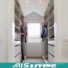 Caminata personalizada en armario del armario de la melamina (AIS-W004)