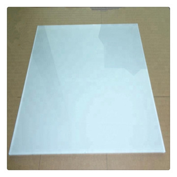4mm Back Painted Tempered Glass White Preis