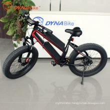 hot selling 48v 750w fat tire snow beach electric fat bike