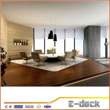 Indoor WPC floor wood plastic composite/waterproof anti-slip WPC indoor decking