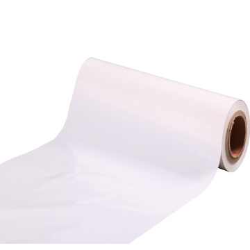 laminage transparent rouleau de film polyester transparent vente chaude