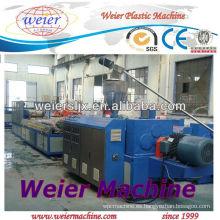 Extrusora de plástico SJSZ65 / 132 para la fabricación de tablas de techo de PVC