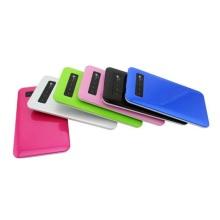 Mobile Digital Lcd Menu Slim Powerbank Charger